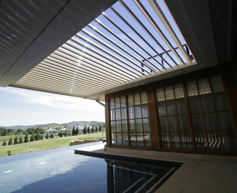 Opening Roof Coffs Harbour Blinds and Awnings