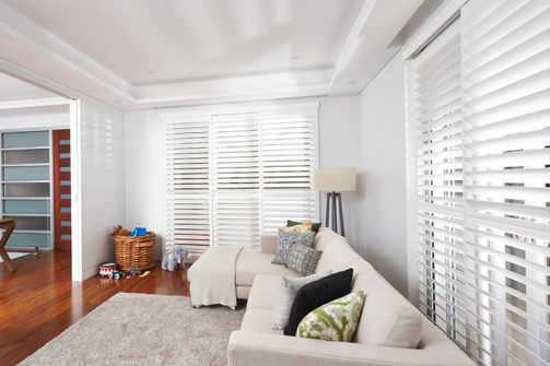 Poly satin shutters Coffs Harbour Blinds and Awnings