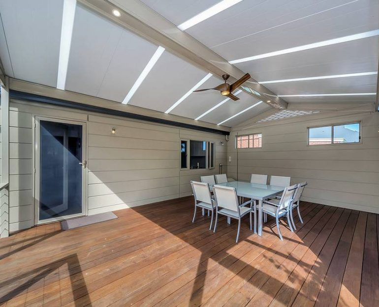 Shademaster Gable Roof Coffs Harbour Blinds and Awnings