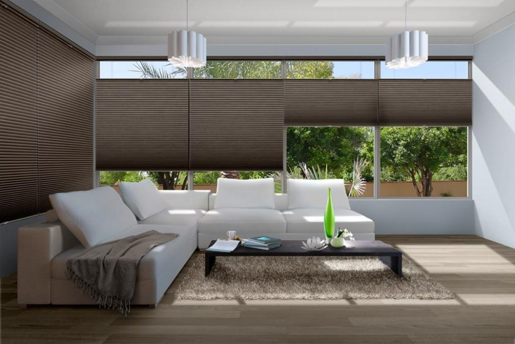 Luxaflex Duette Honeycomb Shades Coffs Harbour 002 Best Blinds for sliding doors