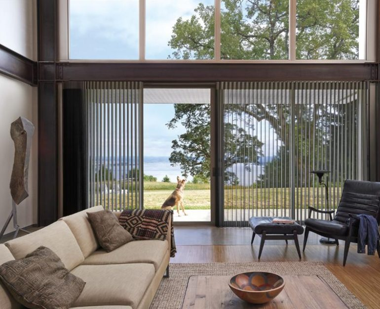 Privacy Sheers Luxaflex Luminette Curtain Coffs Harbour 003