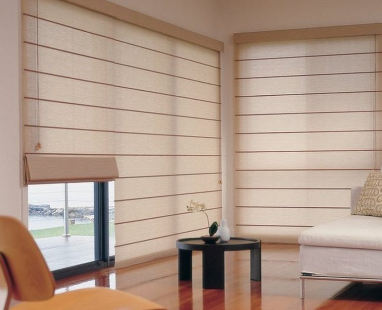 Roman Shades Coffs Harbour Blinds and Awnings
