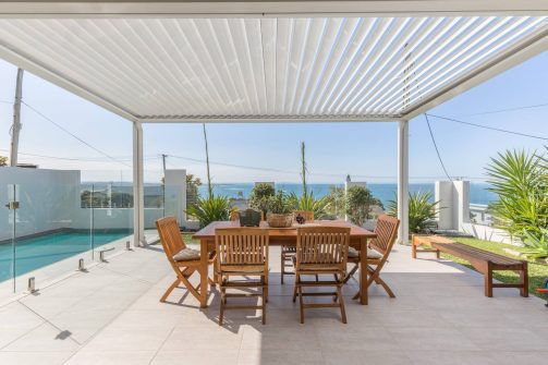 Woolgoolga Headland Residence Eclipse Opening Roof Coffs Harbour Blinds and Awnings
