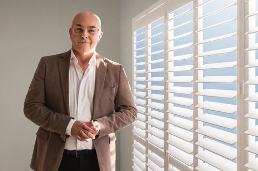 Luxaflex Shutters with Neale Whitaker