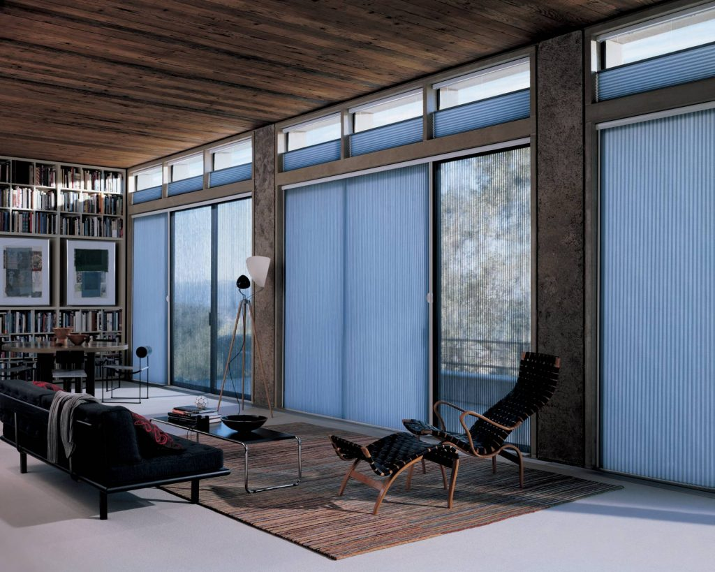 Luxaflex Duette Vertiglide Coffs Harbour Blinds and Awnings Best Blinds for Sliding Doors