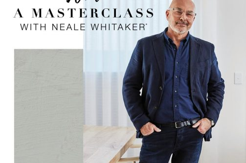 WIN a Neale Whitaker Masterclass - Luxaflex Coffs Harbour Blinds and Awnings